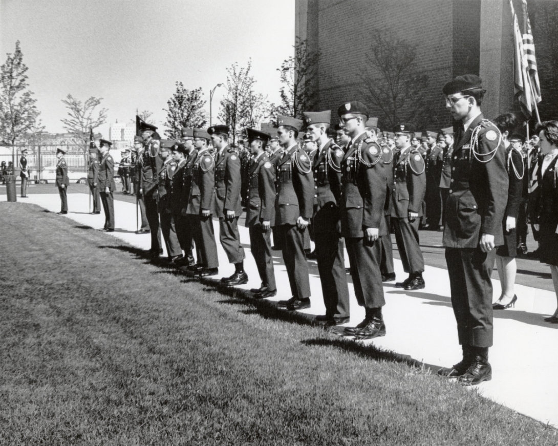 Vintage UIC ROTC picture